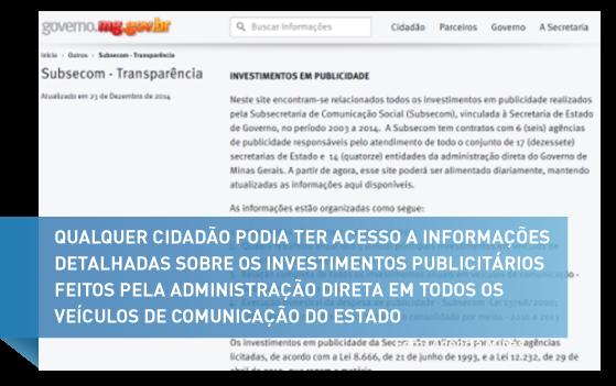 Um dos bancos de dados sobre investimentos em comunicação mais transparente do país