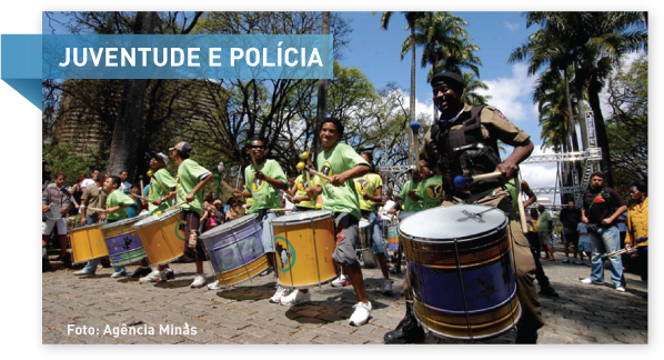 """Programa """"Juventude e Polícia"""" aproximou PMs de comunidades"""