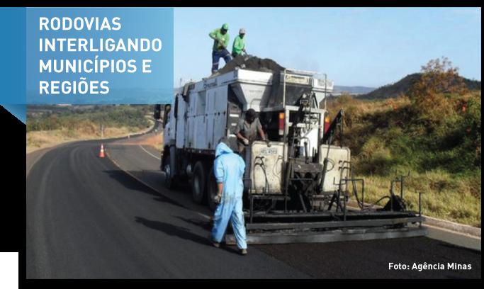 Caminhos de Minas para interligar municípios e regiões